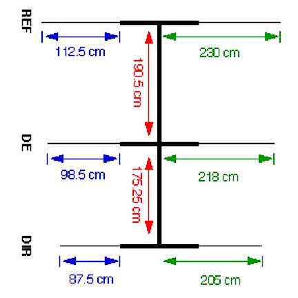 3 Element 20 Meter Hamstick Mini Beam Yagi VE6VK